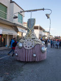 VIAREGGIO, ITALIE - 2 FÉVRIER : flotteur allégorique chez Viareggio Photos stock