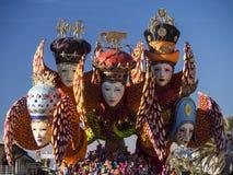 VIAREGGIO, ITALY - FEBRUARY 2:   allegorical float about carniva Stock Images