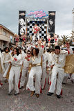 VIAREGGIO, ITALY - FEBRUARY 20:   allegorical float of Elvis Pre Stock Image