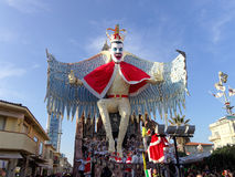 VIAREGGIO, ITALY - FEBRUARY 23:   allegorical float of Freddie M Stock Images