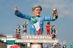 VIAREGGIO, ITALY - FEBRUARY 20:   allegorical float in honor of Stock Photo