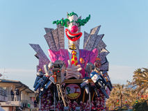 VIAREGGIO, ITALY - FEBRUARY 2:   allegorical float  on the issue Stock Photography