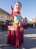VIAREGGIO, ITALY - FEBRUARY 2:   allegorical float of  italian p Royalty Free Stock Photography