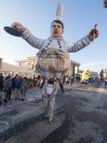 VIAREGGIO, ITALY - FEBRUARY 2:   allegorical float of  italian p Stock Images
