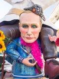 VIAREGGIO, ITALY - FEBRUARY 2:   allegorical float of   Putin at Royalty Free Stock Photos