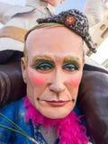 VIAREGGIO, ITALY - FEBRUARY 2:   allegorical float Putin at Viar Stock Image