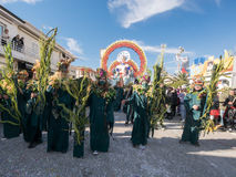 VIAREGGIO, ITALY - February 26:   allegorical float  at Viareggi Royalty Free Stock Photo