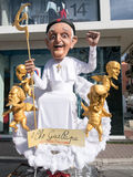 VIAREGGIO, ITALY - February 26:   allegorical float  at Viareggi Stock Image