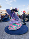 VIAREGGIO, ITALY - February 26:   allegorical float  at Viareggi Royalty Free Stock Photos