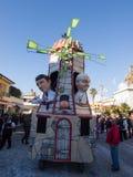 VIAREGGIO, ITALY - FEBRUARY 2:   allegorical float at Viareggio Stock Images