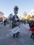 VIAREGGIO, ITALY - FEBRUARY 2:   allegorical float at Viareggio Royalty Free Stock Photos