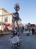 VIAREGGIO, ITALY - FEBRUARY 2:   allegorical float at Viareggio Royalty Free Stock Image