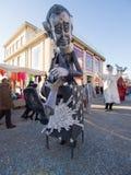 VIAREGGIO, ITALY - FEBRUARY 2:   allegorical float at Viareggio Stock Photos
