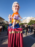 VIAREGGIO, ITALY - FEBRUARY 2:   allegorical float at Viareggio Stock Image