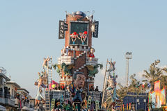 VIAREGGIO, ITALY - February 7:   parade of allegorical chariot a Stock Photo