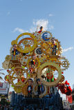 VIAREGGIO, ITALY - February 7:   parade of allegorical chariot a Stock Photos