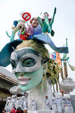 Viareggio Italy festiwal parada karnawał obraz royalty free