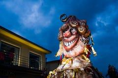 Viareggio`s carnival,2019 edition stock image
