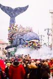 Viareggio`s carnival,2019 edition stock photos