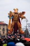 Viareggio`s carnival,2019 edition royalty free stock photo