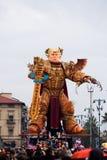 Viareggio`s carnival,2019 edition royalty free stock images