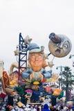 Viareggio`s carnival,2019 edition royalty free stock photography