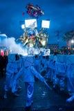 Viareggio`s carnival,2019 edition royalty free stock photos