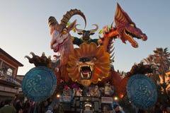 Viareggio Karneval 2011 Stockfotografie