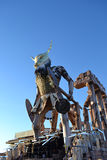 Viareggio karneval, Italien royaltyfri bild