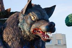 Viareggio karneval, Tuscany, Italien fotografering för bildbyråer
