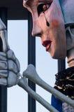 Viareggio, letzte Parade des Karnevals von 2013 Stockfotos