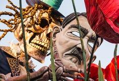 Viareggio otwarcia parada 145th wydanie karnawał w Viareggio, Włochy Obraz Stock
