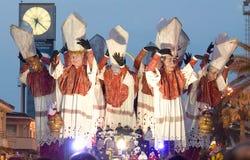Viareggio's Carnival Royalty Free Stock Images