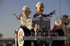 Viareggio's Carnival Stock Image