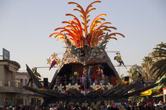 Viareggio's Carnival Royalty Free Stock Photography