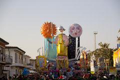 Viareggio's Carnival Royalty Free Stock Photos
