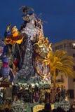 Viareggio's Carnival 2016 Royalty Free Stock Photography