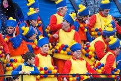 Viareggio's Carnival 2016 stock photos
