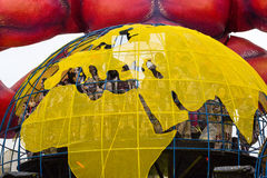 Viareggio's Carnival 2016 Royalty Free Stock Image