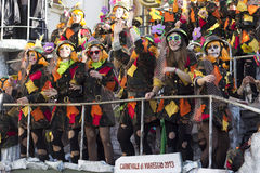 Carnival of Viareggio Royalty Free Stock Image