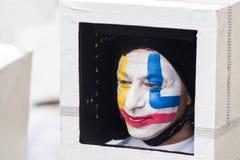 Viareggio`s carnival,2019 edition royalty free stock image