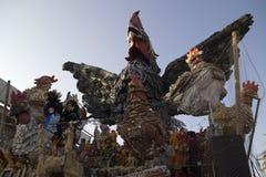 Viareggios Karneval stockbild
