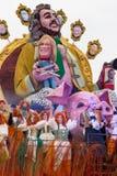 Viareggios Karneval 2016 lizenzfreie stockfotografie