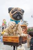 Viareggios Karneval 2016 stockbilder