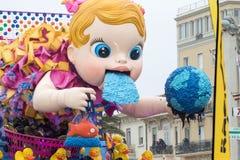 Viareggios Karneval 2016 lizenzfreie stockbilder