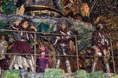Viareggios Karneval 2016 Lizenzfreie Stockfotos