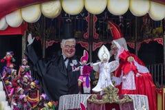 Viareggios Karneval 2016 lizenzfreies stockbild