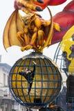 Viareggios Karneval 2016 stockbild