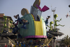 Karneval von Viareggio lizenzfreie stockbilder