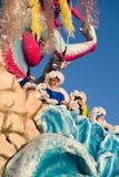 Viareggios karneval, upplaga 2019 royaltyfria foton